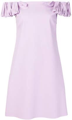 Chiara Boni shredded sleeve dress