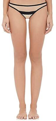 YASMINE ESLAMI Women's Serena Bikini Briefs - Nude, Black
