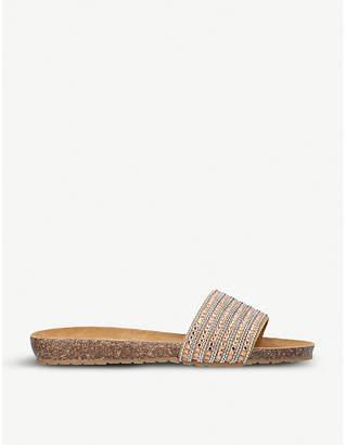 Carvela Comfort Super embellished suede sandals