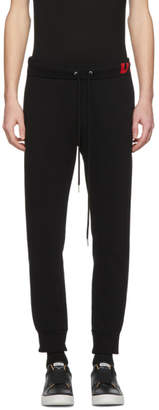 Diesel Black P-Moons Lounge Pants