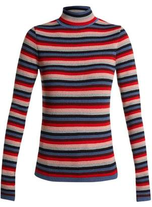 MiH Jeans Moonie Striped Wool Blend Sweater - Womens - Multi