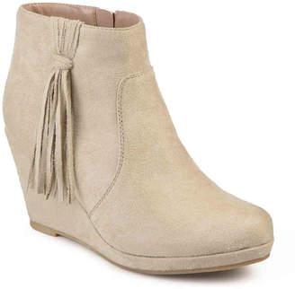 Journee Collection Ela Wedge Bootie - Women's