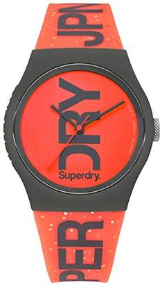 Superdry Women's 'Urban' Quartz Plastic and Silicone Casual Watch