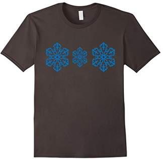 Snowflake Family Matching holiday Christmas pajama t-shirt