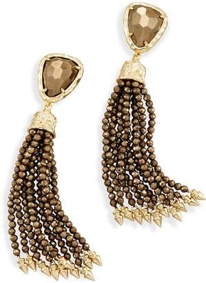 Kendra Scott Blossom Statement Tassel Earrings