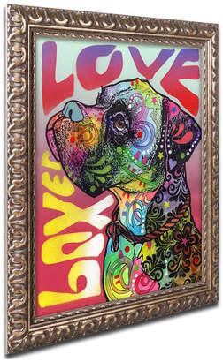 Trademark Global Dean Russo 'Boxer Luv' Ornate Framed Art