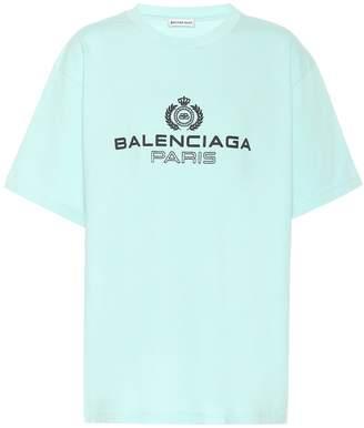 Balenciaga Logo cotton-jersey T-shirt
