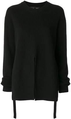 Proenza Schouler front slit sweater