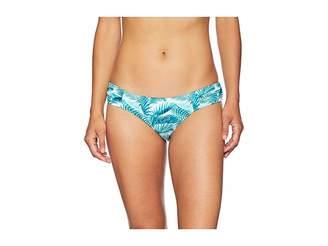 Tommy Bahama Among Fronds Shirred Hipster Women's Swimwear