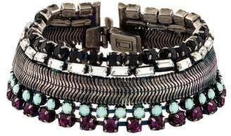 Dannijo Crystal Link Bracelet