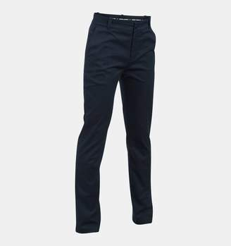 Under Armour Boys' UA Uniform Chino Slim Fit Pants