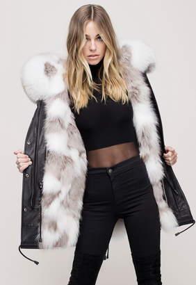 Nicole Benisti I Am Belleville Reversible Fur Lined Parka