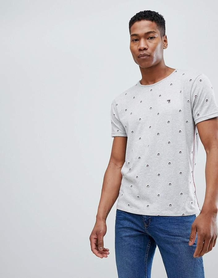 – T-Shirt mit Rundhalsausschnitt