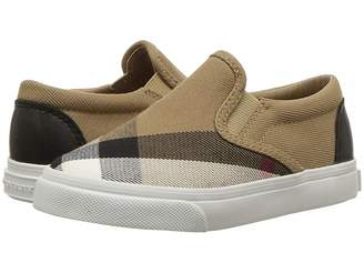 Burberry Linus Check Trainer (Toddler)