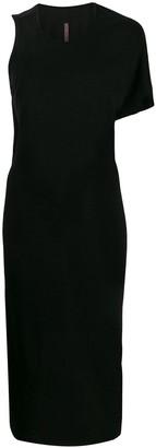 Rick Owens Lilies asymmetric one-sleeve dress