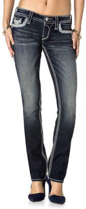 Rock Revival Womens Ena J26 Straight Jeans
