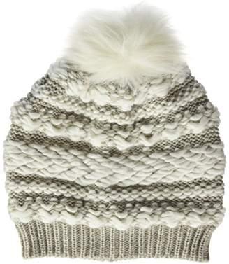 131c554ad4f Dorothy Perkins Women s Winter Stitch BeanieSize  One