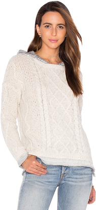 Generation Love Phoebe Cable Knit Sweater $264 thestylecure.com
