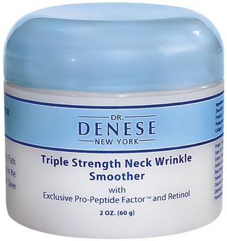 Dr. μ Dr. Denese Triple Strength Wrinkle Smoother Neck Cream, 2oz