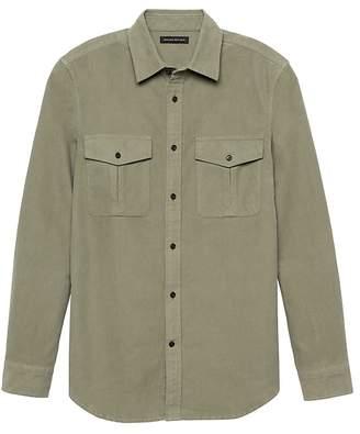 Banana Republic Heritage NEW Slim-Fit Moleskin Shirt Jacket
