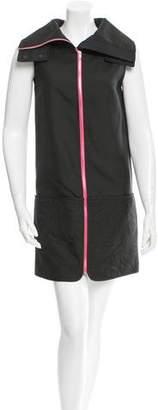 Alexander Wang Paisley-Paneled Sleeveless Dress w/ Tags