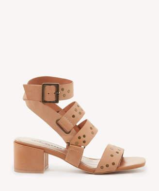 Kelsi Dagger Brooklyn Women's Seabring Mid Heels Gladiators Sandals Tan Size 6 Leather From Sole Society