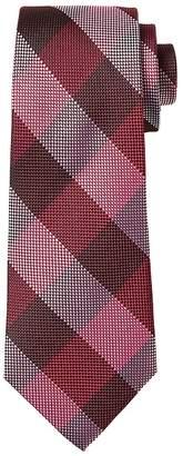 Banana Republic Woven Check Silk Nanotex® Tie