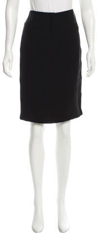 BlumarineBlumarine Classic Knee-Length Skirt