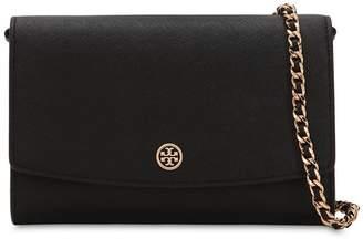 Tory Burch Robinson Leather Wallet Crossbody Bag