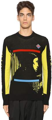 Kenzo Sakamoto Jacquard Crewneck Sweater