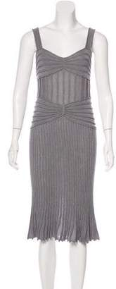 Christian Dior Sleeveless Knit Dress