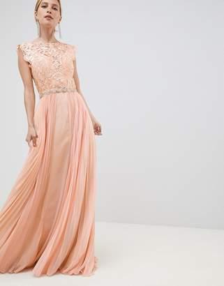 Jovani Tulle Maxi Dress