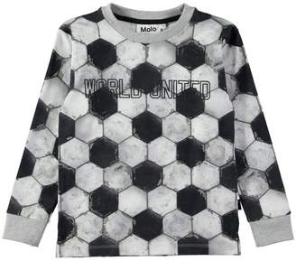 Molo Rai T-Shirt Ls Football Structure