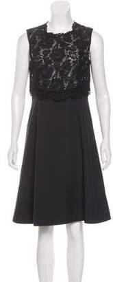 Valentino Wool & Silk Dress