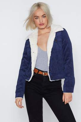 Nasty Gal Warm Regards Corduroy Jacket