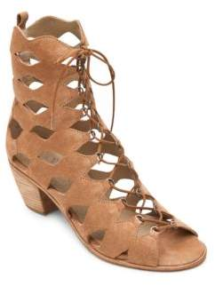 Matisse Jester Cut-Out Suede Heeled Sandals