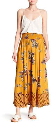 Angie Floral Maxi Skirt
