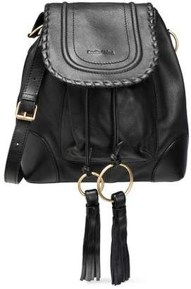 See by Chloe Polly Tasseled Leather Bucket Bag