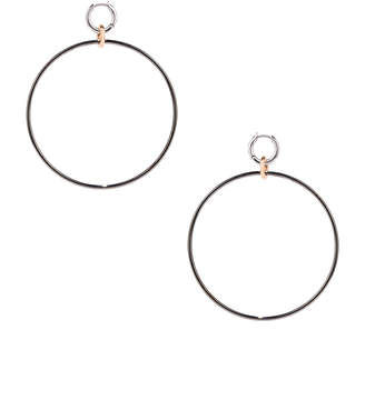 Spinelli Kilcollin Altraire Noir Hoop Earrings