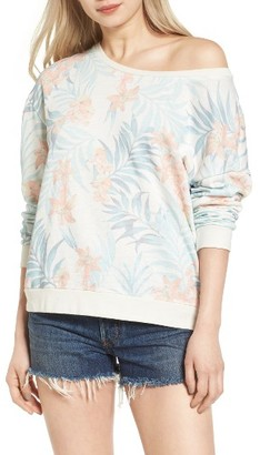 Women's Rip Curl Tropicana Sweatshirt $54 thestylecure.com