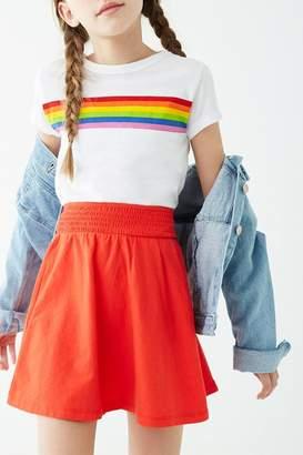 Forever 21 Girls Smocked Mini Skater Skirt (Kids)