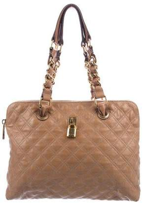 Marc Jacobs Quilted Chain-Link Tote