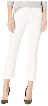 Blank NYC The Varick Cropped White Jeans in Great White