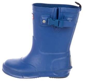 Hunter Boys' Rubber Rain Boots
