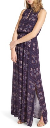 Women's Everly Floral Print Maxi Dress $55 thestylecure.com