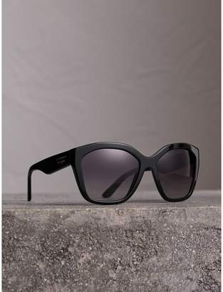 Burberry Square Frame Sunglasses, Black