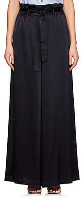 Osman Women's Paloma Satin Wide-Leg Trousers