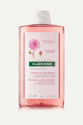 Klorane Shampoo With Peony, 400ml - Colorless