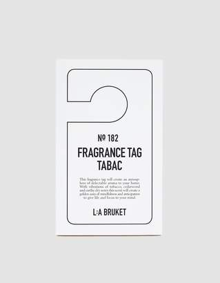 Tabac L:A Bruket Fragrance Hang Tag in