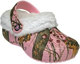 Dawgs Toddlers' Mossy Oak Fleece Fluffy Clogs Slippers